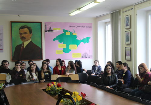 Олимпиада среди студентов и молодежи по крымскотатарскому языку на базе КИПУ